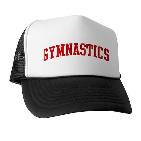 Gymnastics (red curve) Trucker Hat