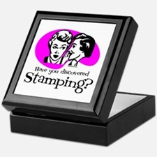 Discovered Stamping Keepsake Box