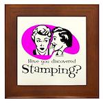 Discovered Stamping Framed Tile