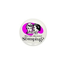 Discovered Stamping Mini Button (10 pack)