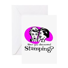 Discovered Stamping Greeting Card