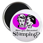 Discovered Stamping Magnet