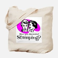 Discovered Stamping Tote Bag