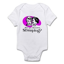 Discovered Stamping Infant Bodysuit