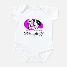 Discovered Stamping Infant Bodysuit
