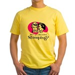 Discovered Stamping Yellow T-Shirt
