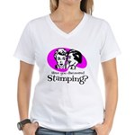 Discovered Stamping Women's V-Neck T-Shirt