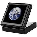Blue Marble Keepsake Box