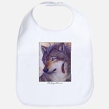 Grey Shaman Wolf Bib