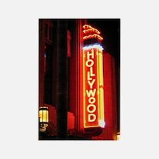 Hollywood neon sign souvenir magnet