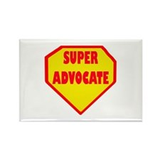 Super Advocate Rectangle Magnet