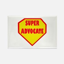 Super Advocate Rectangle Magnet