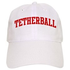 Tetherball (red curve) Baseball Cap