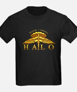 Golden Halo Badge T