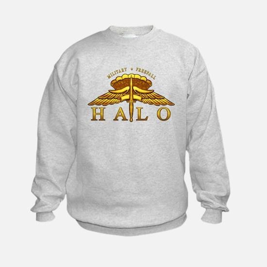 Golden Halo Badge Jumpers