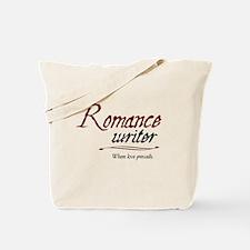 Romance Writer-Where Love Pre Tote Bag