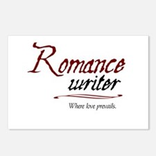 Romance Writer-Where Love Pre Postcards (Package o