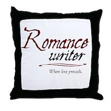 Romance Writer-Where Love Pre Throw Pillow