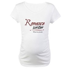 Romance Writer-Where Love Pre Shirt