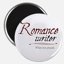 "Romance Writer-Where Love Pre 2.25"" Magnet (10 pac"