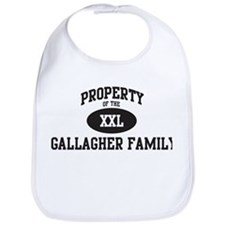 Property of Gallagher Family Bib