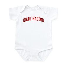 Drag Racing (red curve) Infant Bodysuit