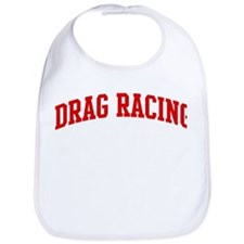 Drag Racing (red curve) Bib