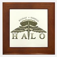 Halo Badge Framed Tile