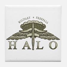 Halo Badge Tile Coaster