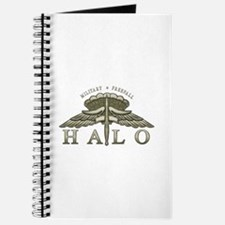Halo Badge Journal