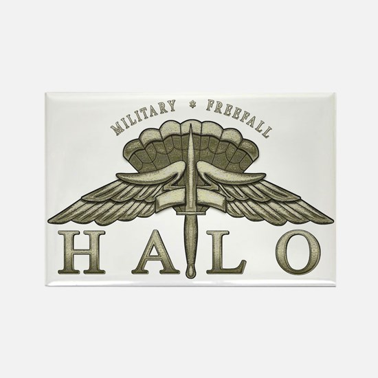 Halo Badge Rectangle Magnet (10 pack)