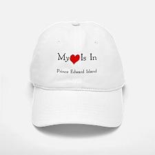 My Heart Is In Prince Edward Baseball Baseball Cap