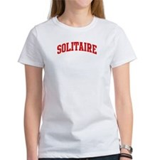 Solitaire (red curve) Tee