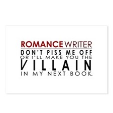 Don't Piss Off The Writer Postcards (Package of 8)