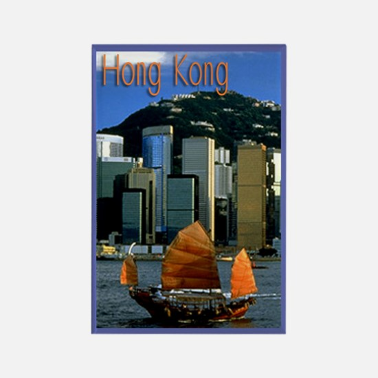 Hong Kong scenic souvenir magnet
