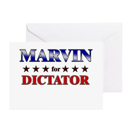 MARVIN for dictator Greeting Cards (Pk of 20)