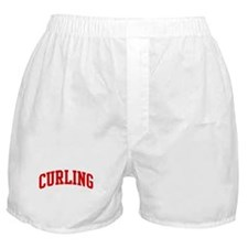 Curling (red curve) Boxer Shorts
