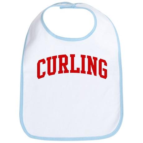 Curling (red curve) Bib