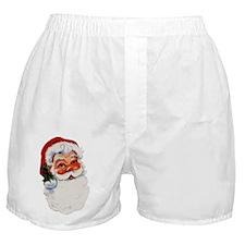 Paper Santa Boxer Shorts