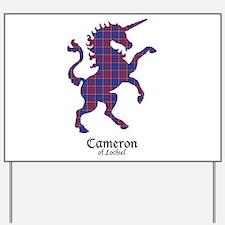 Unicorn-Cameron of Lochiel Yard Sign