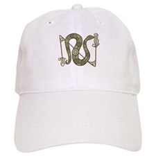 Pictish Snake Baseball Cap