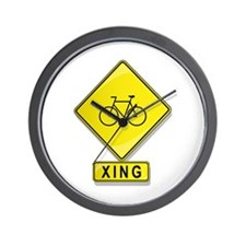 Bicycle XING Wall Clock
