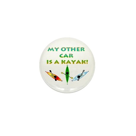My Other Car Is a Kayak Mini Button (10 pack)
