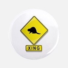 """Beaver XING 3.5"""" Button (100 pack)"""