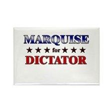 MARQUISE for dictator Rectangle Magnet