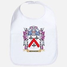 Kennedy- Coat of Arms - Family Crest Bib