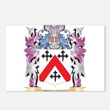 Kennedy- Coat of Arms - F Postcards (Package of 8)