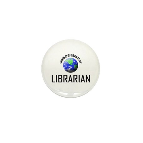 World's Greatest LIBRARIAN Mini Button (10 pack)