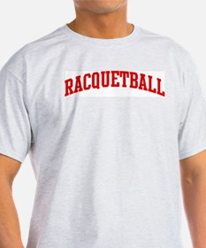 Racquetball (red curve) T-Shirt