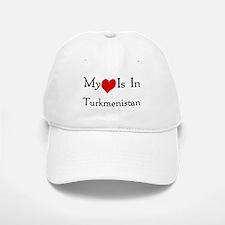 My Heart Is In Turkmenistan Baseball Baseball Cap